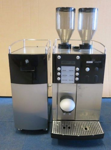 Franke Evolution Top Bean To Cup Coffee Machine & Franke Milk Cooling Unit